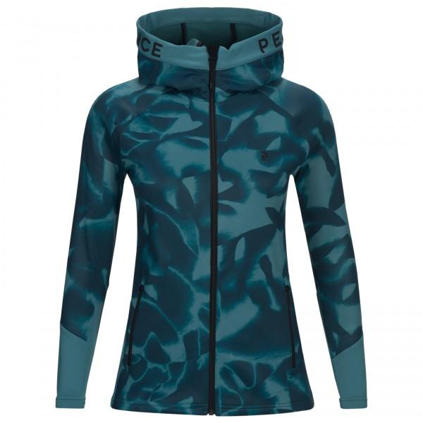 Peak Performance - Women's Rider Print Zip Hood - Fleece jacket