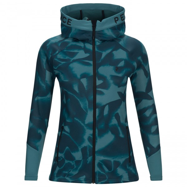Peak Performance - Women's Rider Print Zip Hood - Fleecejakke