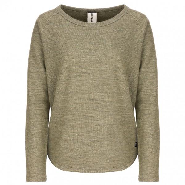 SuperNatural - Women's Knit Sweater - Överdragströjor merinoull