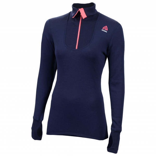 Aclima - Women's Doublewool Polo Shirt Zip - Merinopullover