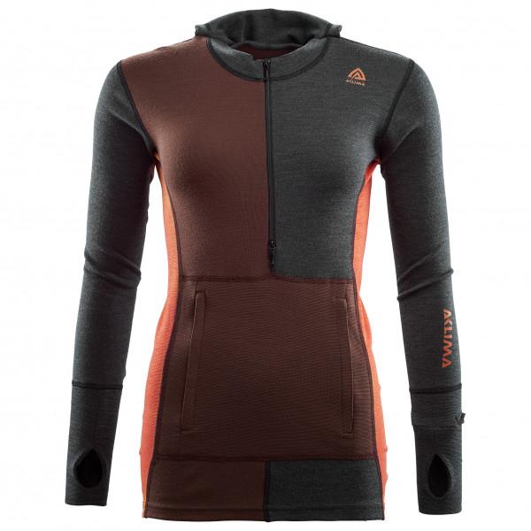 Aclima - Women's Warmwool Hood Sweater Net - Merinogensere