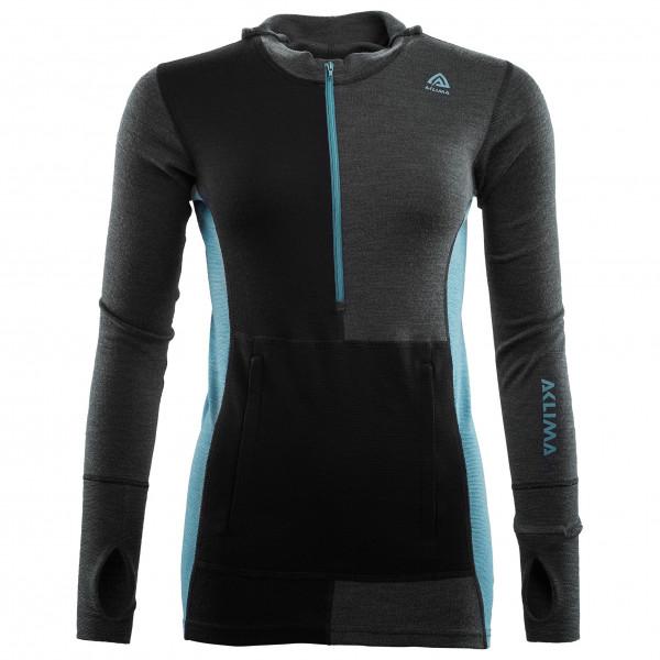 Aclima - Women's Warmwool Hood Sweater Net - Merino jumper