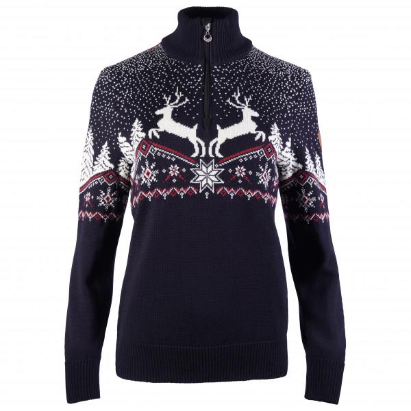 Dale of Norway - Women's Dale Christmas Sweater - Överdragströjor merinoull