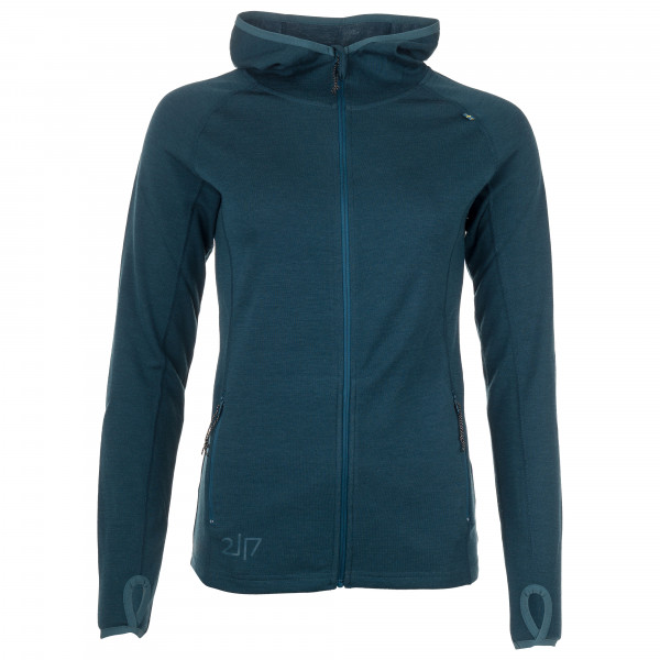 2117 of Sweden - Women's Merino Hoody Kusten - Merinovillapulloverit