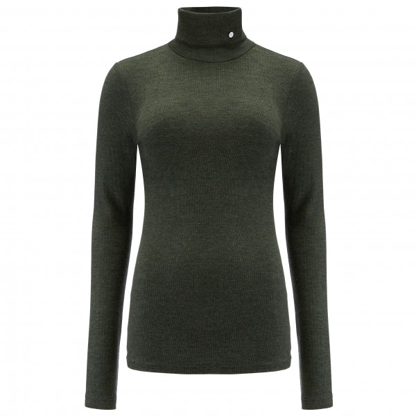 We Norwegians - Women's Rib Turtleneck - Merino sweatere