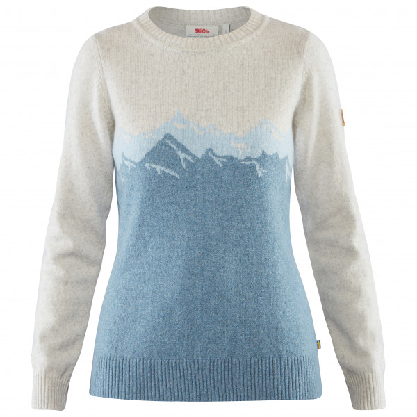 Fjällräven - Women's Greenland Re-Wool View Sweater - Uldsweater
