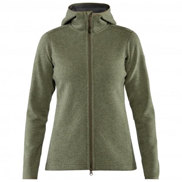 Fjällräven - Women's High Coast Wool Hoodie - Wool jumper