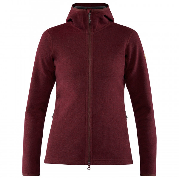 Fjällräven - Women's High Coast Wool Hoodie - Wool jumper