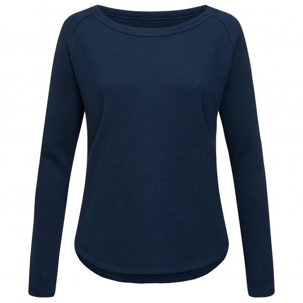 SuperNatural - Women's Waffle Sweater - Merinopullover