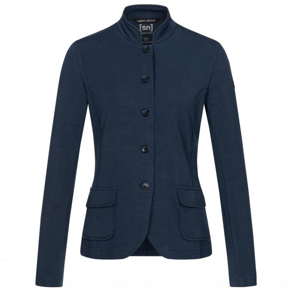 super.natural - Women's Wenger Raised - Merino jacket