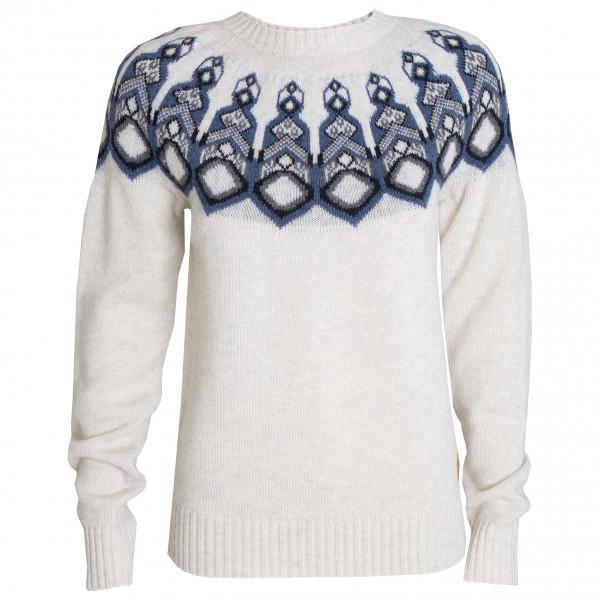 Tufte Wear - Women's Bambull Blend Pattern Sweater - Uldsweater