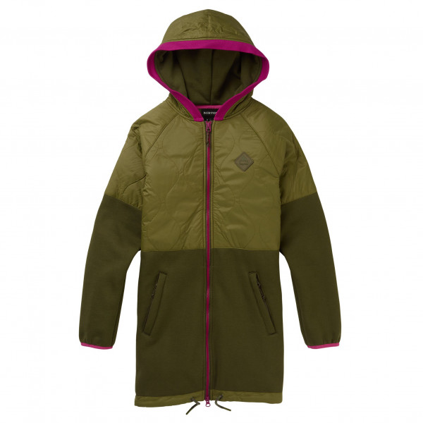 Burton - Women's Khalsa Hybrid Full-Zip - Fleece jacket