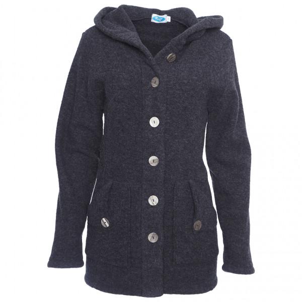 Reiff - Women's Fleece-Kapuzenjacke Mona - Merinojacke