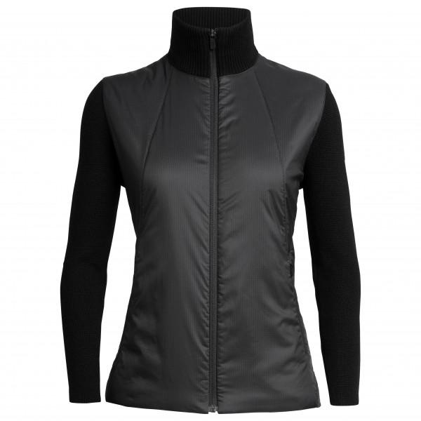 Icebreaker - Women's Lumista Hybrid Sweater Jacket - Merino jacket