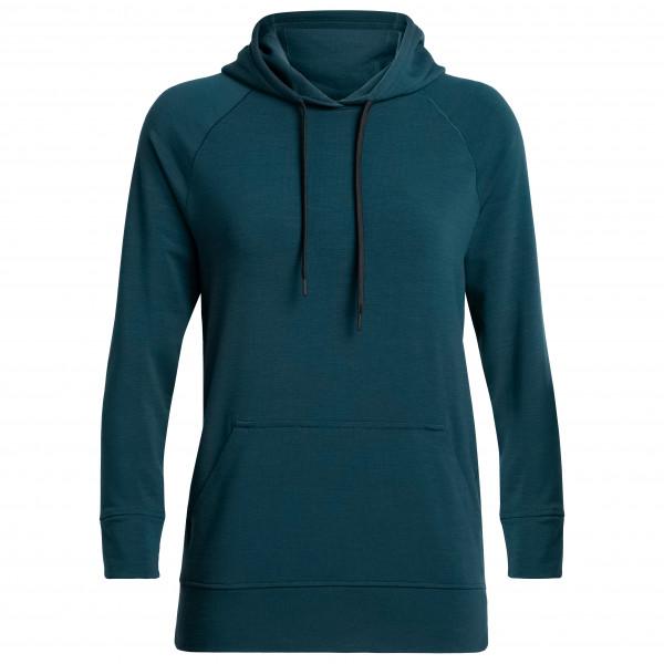 Icebreaker - Women's Momentum Hooded Pullover - Felpa di merino con cappuccio