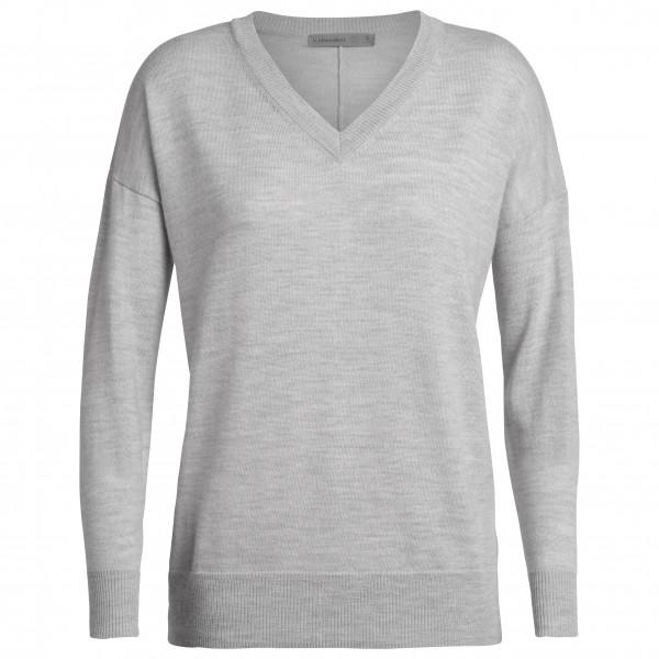 Icebreaker - Women's Shearer V Sweater - Merinogensere