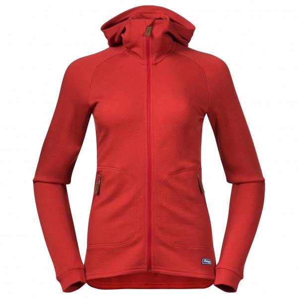 Bergans - Women's Tuva LT Wool Hood Jacket - Merinohoodie