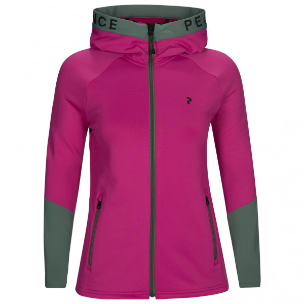 Peak Performance - Women's Rider Zip Hood - Fleecejacka