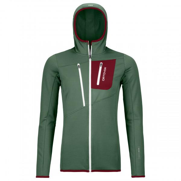 Women's Fleece Grid Hoody - Fleece jacket