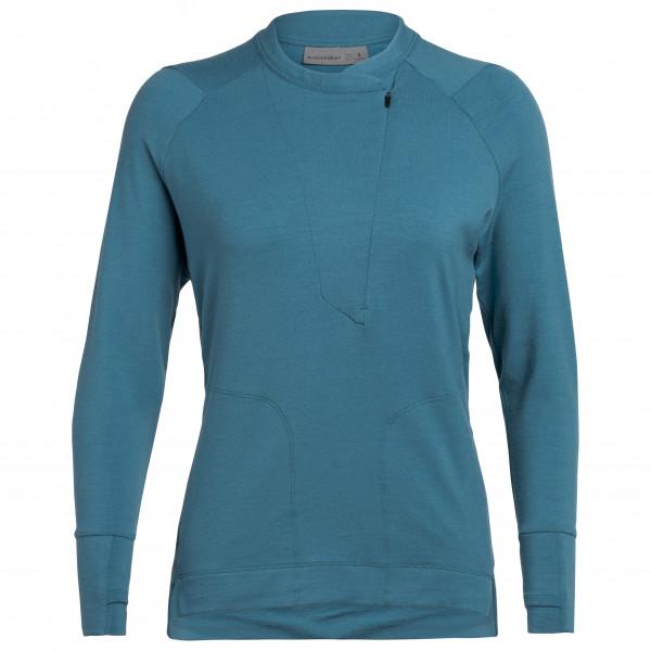 Icebreaker - Women's Saige L/S Half Zip - Långärmad tröja i merinoull