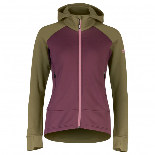 Mons Royale - Women's Nevis Wool Fleece Hood - Fleecejacke
