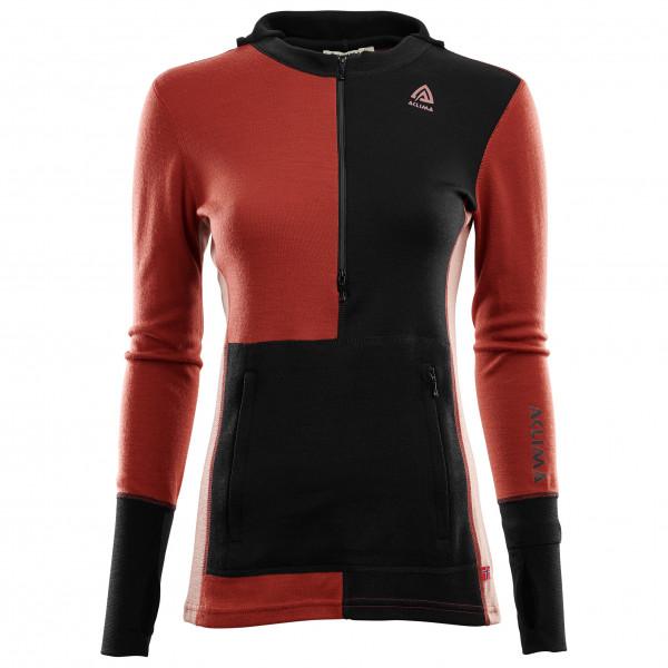 Aclima - Women's Warmwool Hood Sweater Zip - Merino jumper