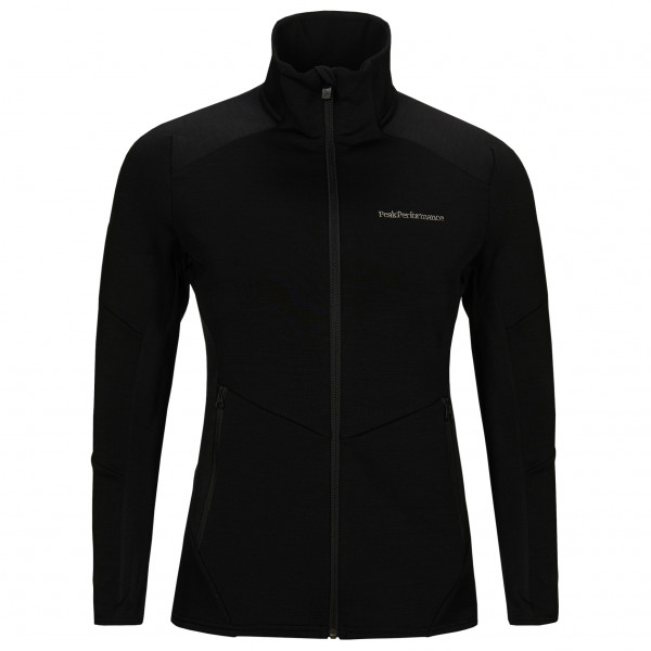 Women's Vertical Mid Zip Jacket - Fleece jacket