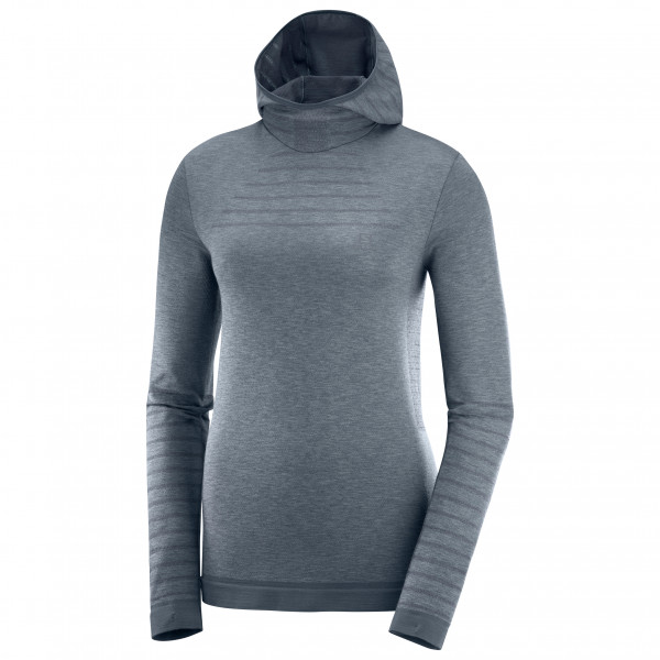 Salomon - Women's Outspeed Wool L/S Hoodie