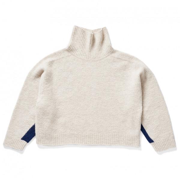 Holden - Women's Seamless High Neck Sweater - Wollpullover