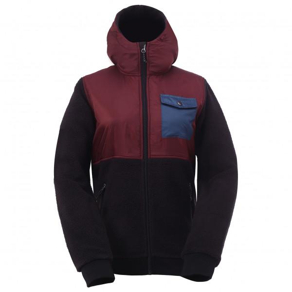 2117 of Sweden - Women's Pile Jacket Hood Skog - Fleece jacket