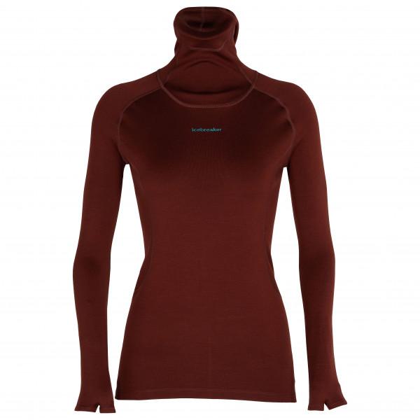 Icebreaker - Women's Merino L/S Roll Neck - Merino undertøj