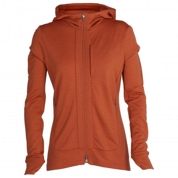 Women's Quantum III L/S Zip Hood - Merino jacket