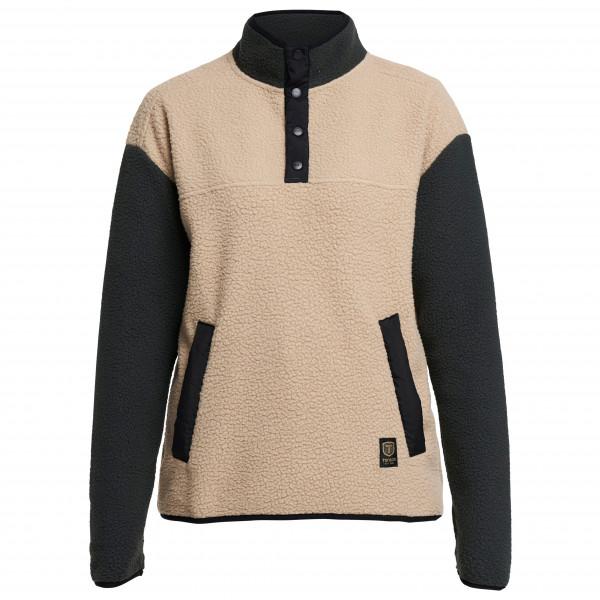 Tenson - Women's Yoke Button Pile - Pullover in pile