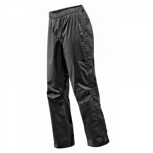 Vaude - Women's Fluid Full-Zip Pants S/S - Waterproof trousers