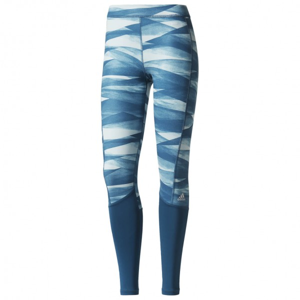 adidas - Women's Techfit Base Long Tight Print - Træningsbukser
