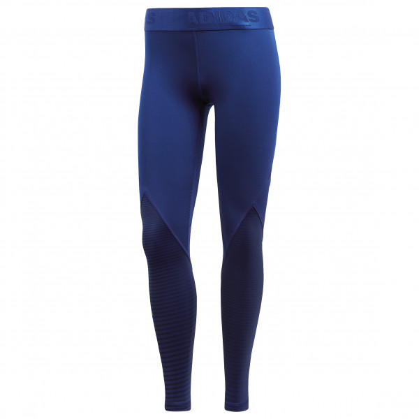 adidas - Women's Alphaskin Sport Long Tight Print - Trainingsbroeken