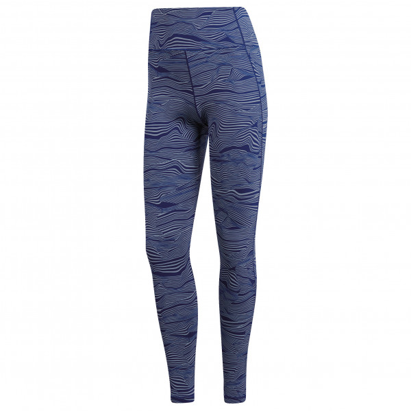 adidas - Women's Ultimate High Rise Alive Print 7/8 Tight - Treningsbukser