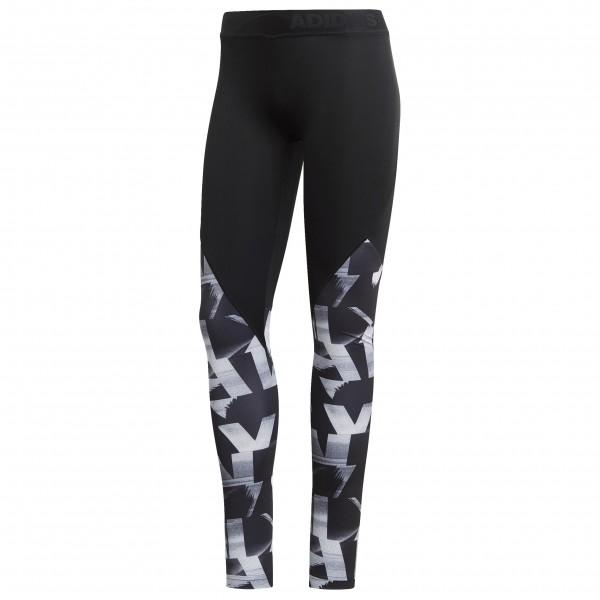 adidas - Women's Alphaskin Sport S S P L - Verryttelyhousut