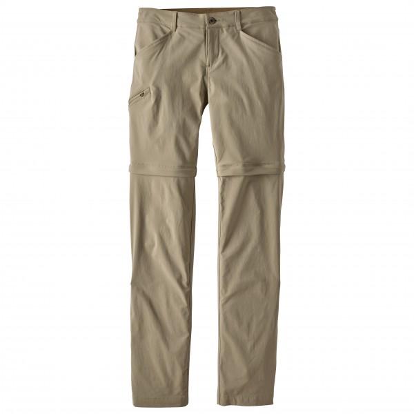 Patagonia - Women's Quandary Convertible Pants - Zip-Off Hose