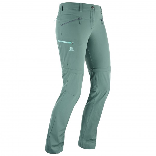 Salomon - Women's Wayfarer Straight Zip Pant - Trekkinghousut