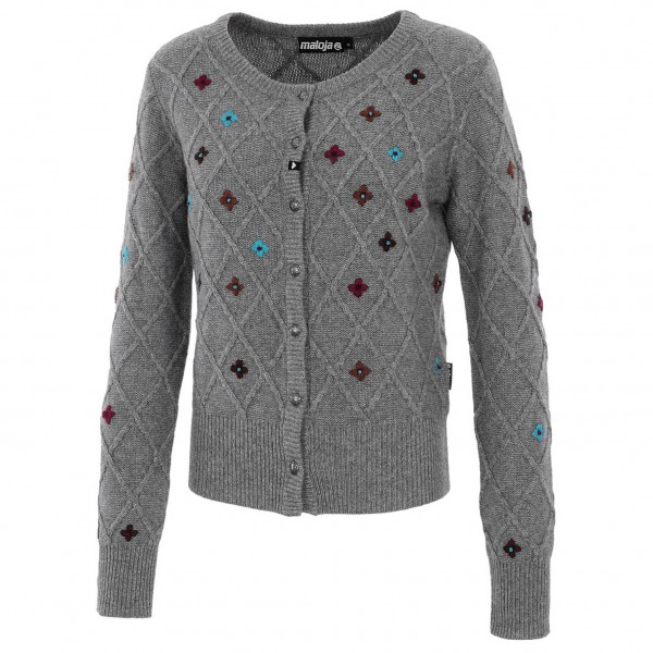 Maloja - Women's SafarM. Snow - Knitted jacket