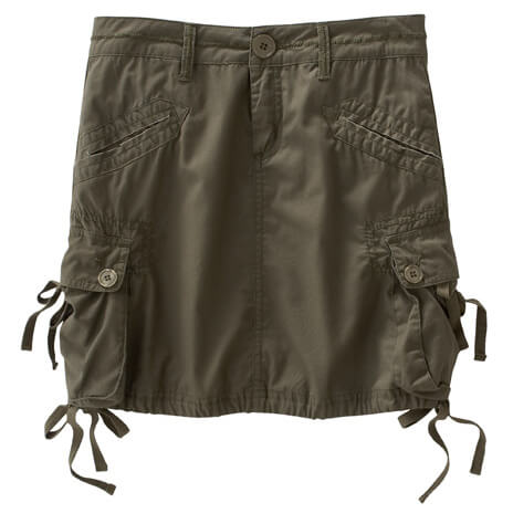 Prana - Women's Ellia Cargo Skirt - Rock