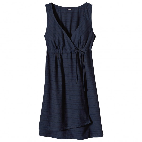 Patagonia - Women's Island Hemp Crossover Dress - Rock