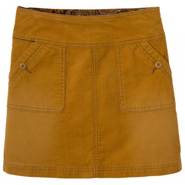 Prana - Women's Canyon Cord Skirt - Rock