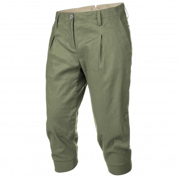 Salewa - Women's Fanes Chino Linen 3/4 Pants - Shorts