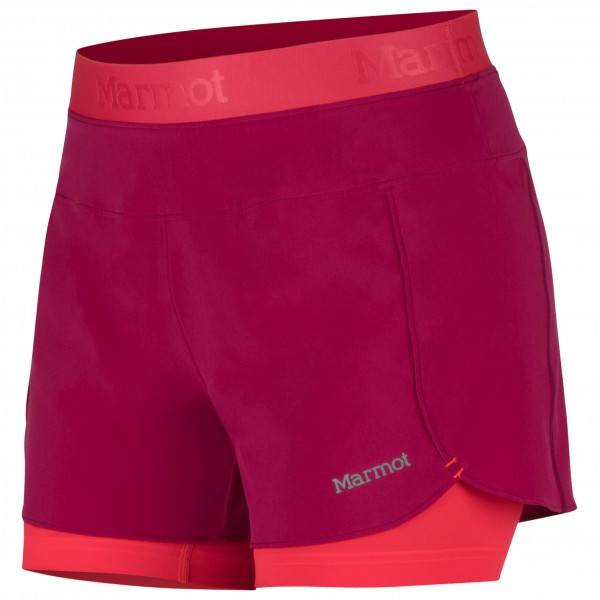 Marmot - Women's Pulse Short - Løbeshorts og 3/4-løbetights