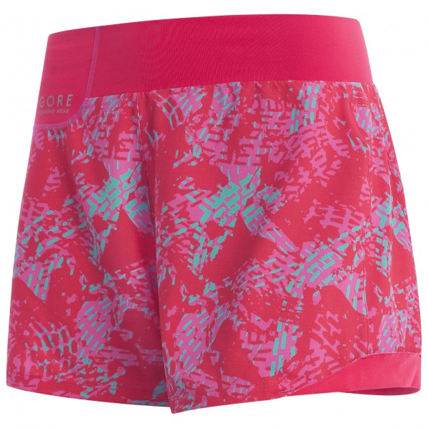 GORE Running Wear - Sunlight Lady Print Shorts - Løpeshorts