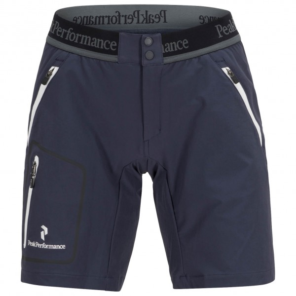 Peak Performance - Women's Black Light Lite Softshell Shorts - Shortsit