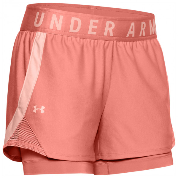 Under Armour - Women's Play Up 2-in-1 Short - Løbeshorts og 3/4-løbetights