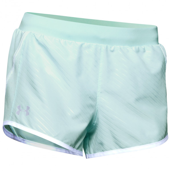 Under Armour - Women's UA Fly By 2.0 Mini Embossed Short - Laufshorts